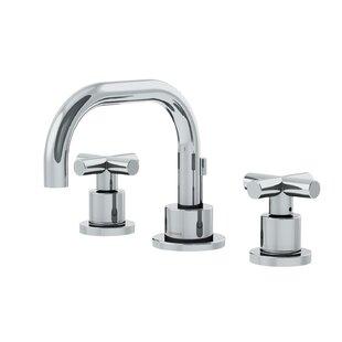 Symmons Dia Low Spout Widespread Standard Bathroom Faucet Double Cross Handle