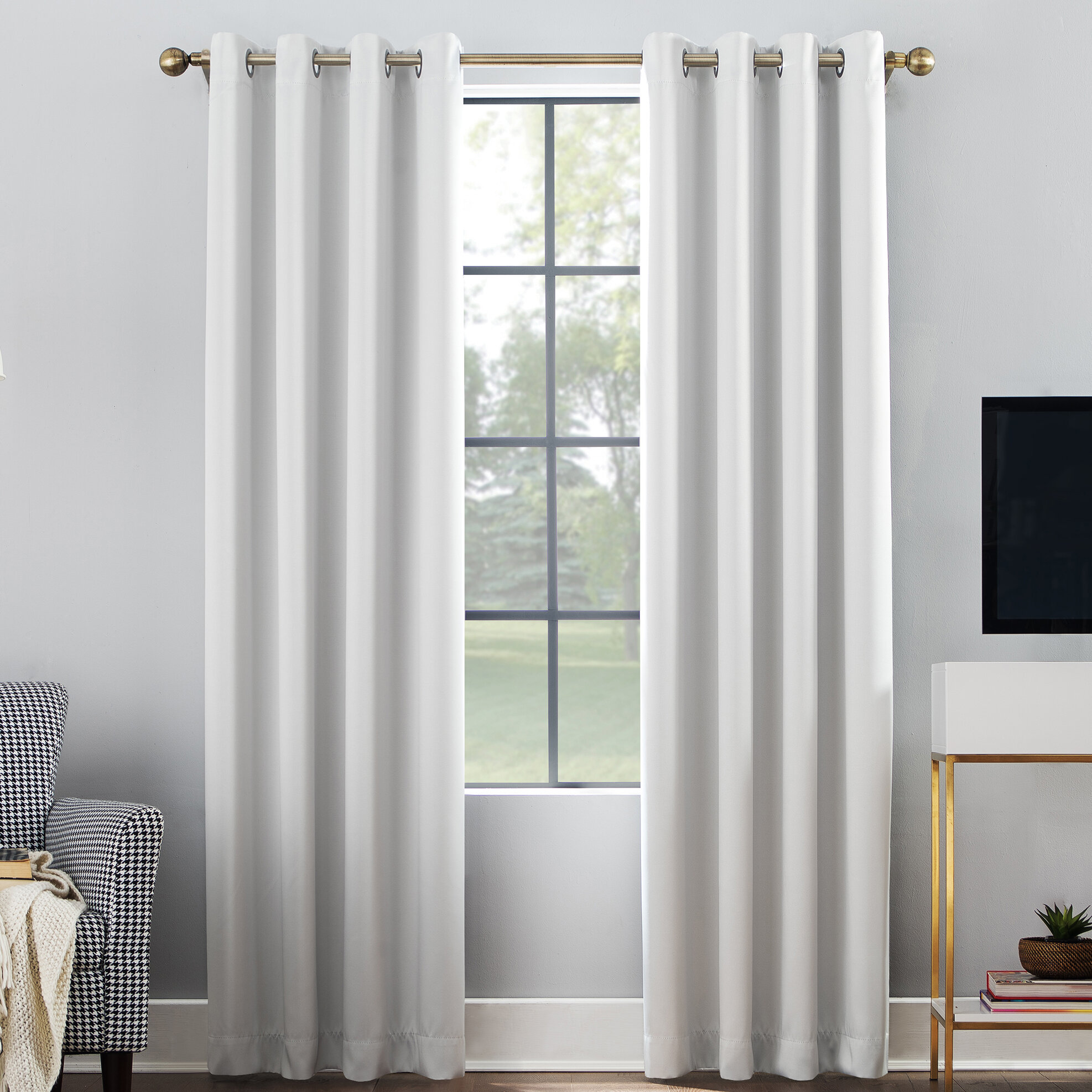 Ivory And Cream Curtains Drapes You Ll Love In 2021 Wayfair