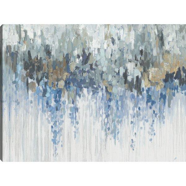 Blue Wave Wall Art Wayfair