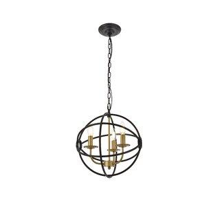 Amundsen 3-Light Globe Pendant by Wrought Studio