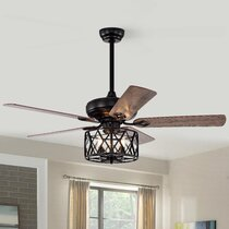 French Country Ceiling Fans You Ll Love In 2021 Wayfair