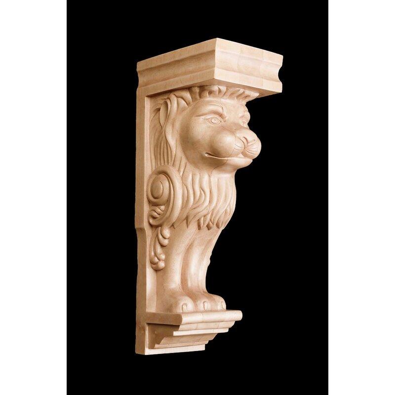 Alston Inc Lion Head 16 H X 5 W X 6 1 2 D Corbel Wayfair