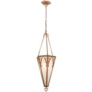 Meyda Tiffany Church 1-Light Urn Pendant
