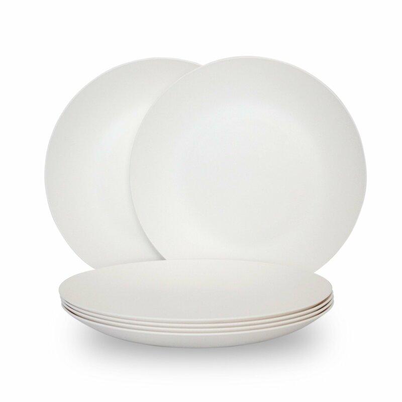 Ebern Designs Ellenberger Melamine Dinner Plate Reviews Wayfair