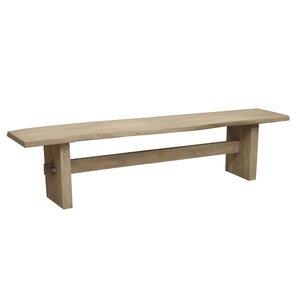 Wood Bench by Caribou Dane