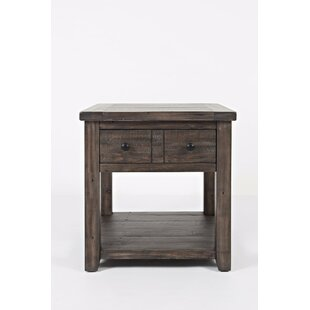 Gracie Oaks Westhoff End Table with Storage