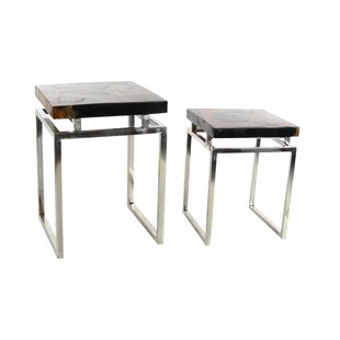 2 Piece End Table Set by C..