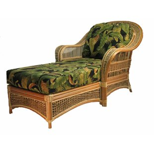 Spice Islands Wicker Chaise Lounge