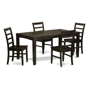 East West Furniture Lynfield 5 Piece Dining Set