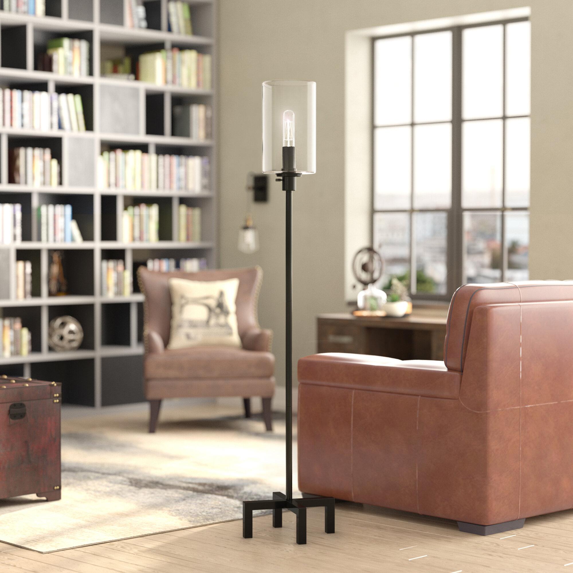 Williston forge copeland 66 25 led floor lamp reviews wayfair