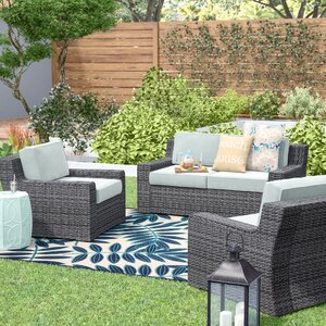 Linwood 3 Piece Deep Seating Group with Cushion