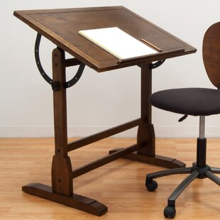 Solid Wood Drafting Table by Studio Designs