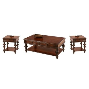 Astoria Grand Turnham 3 Piece Coffee Table Set
