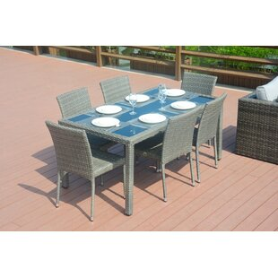 Emily 7 Piece Dining Set by Direct Wicker