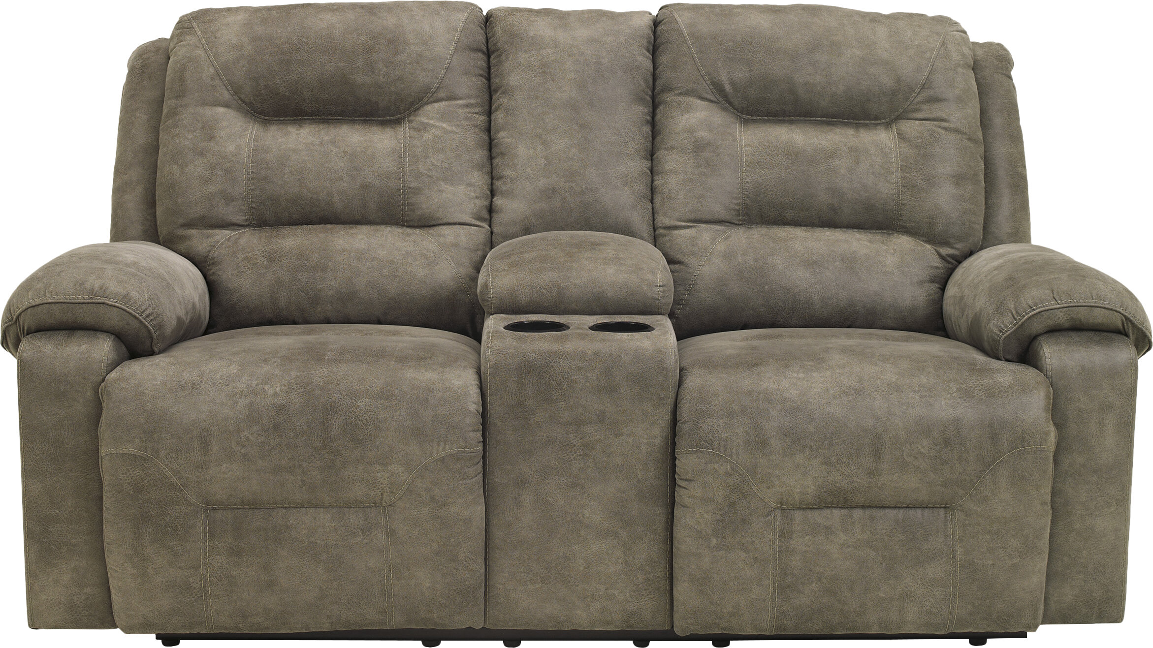 Loon Peak Tressider Reclining 77 Round Arms Loveseat Reviews Wayfair