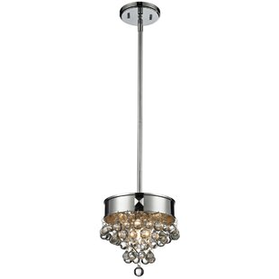 House of Hampton Klaus 1-Light Drum Pendant