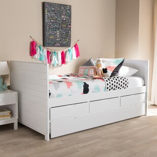 Affordable Price Timpson Bed with Trundle by Harriet Bee Reviews (2019) & Buyer's Guide