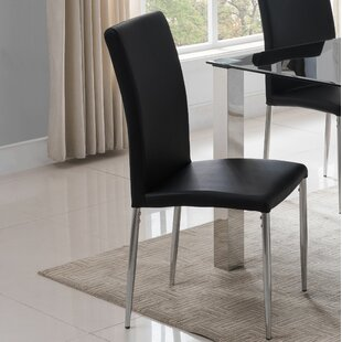 Dusty Upholstered Dining Chair (Set of 4) Wrought Studio