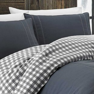 Kingston 100% Cotton 2 Piece Reversible Comforter Set by Eddie Bauer Best Design