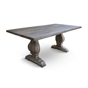 Alverson Solid Wood Dining Table