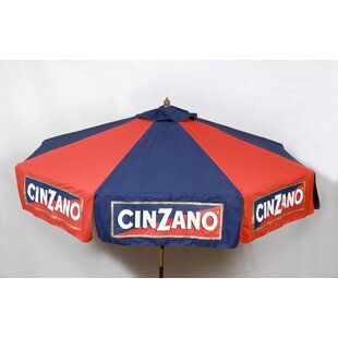 6' Cinzano Beach Umbrella by Parasol