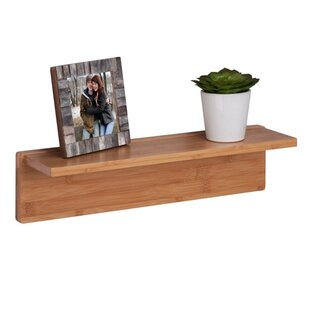 Bamboo Wall Shelf | Wayfair