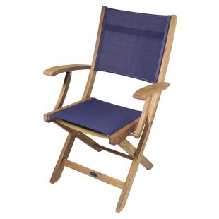 SeaTeak Bimini Folding Deck Chair