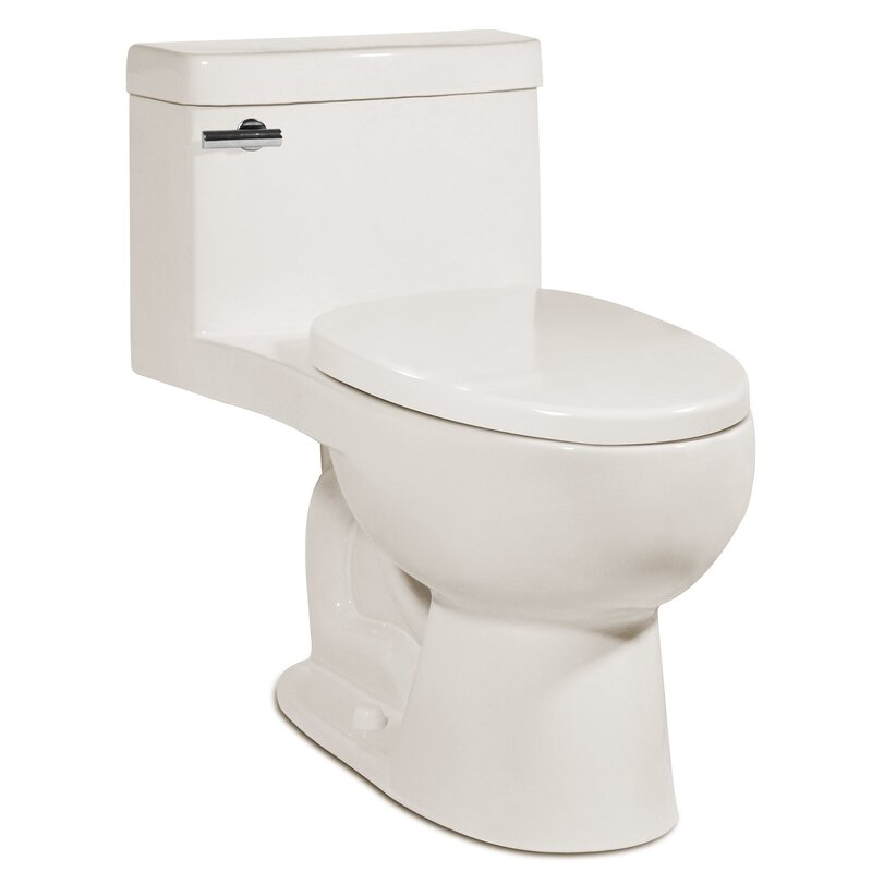Icera Riose 1 28 Gpf Water Efficient Elongated One Piece Toilet Seat Included Wayfair