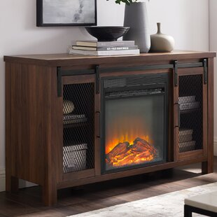 Mahan TV Stand for TVs up to 48 with Fireplace