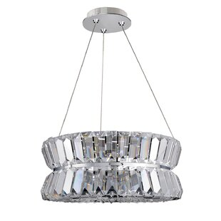 Armanno 3-Light Crystal Chandelier by All..