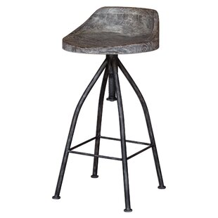 Eldorado Adjustable Height Bar Stool by T..