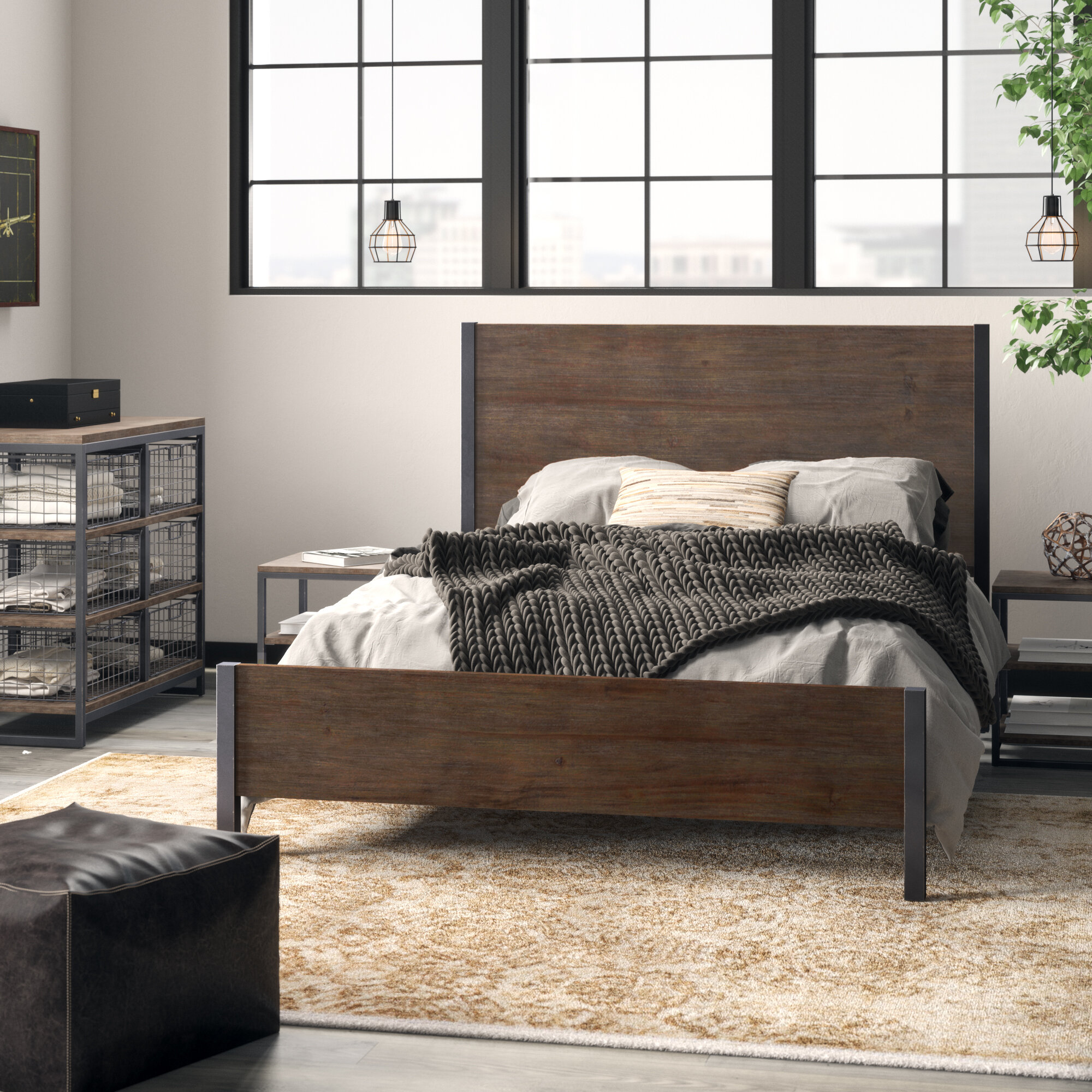 Moriann Standard 4 Piece Bedroom Set