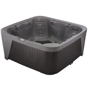 DayDream 6-Person 25-Jet Plug And Play Hot Tub With Waterfall By AquaRest Spas