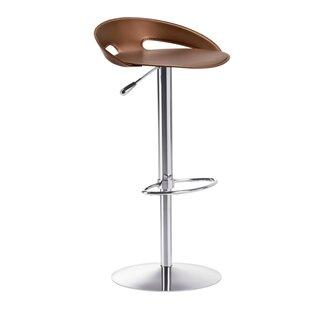 John Adjustable Height Swivel Bar Stool by Midj