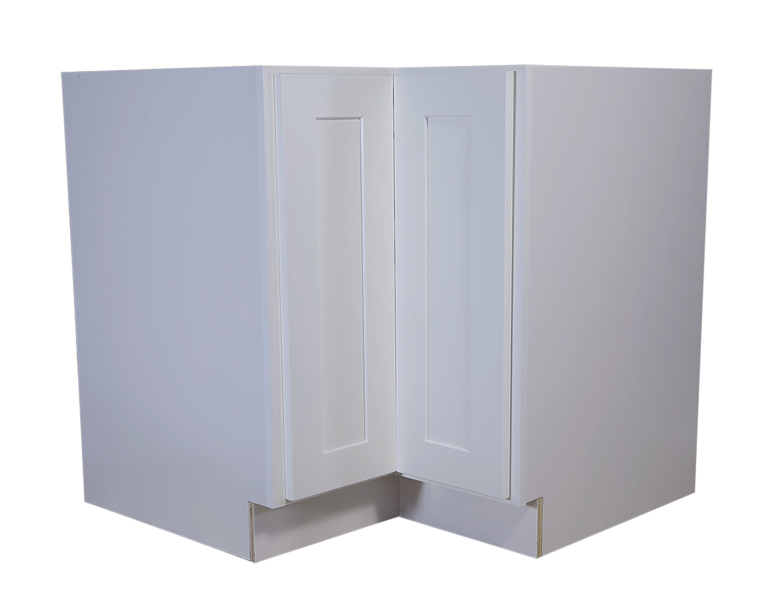 Ebern Designs Frits Assembled 36x24x34 5 In Corner Base Cabinet
