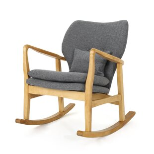 Saum Fabric Rocking Chair