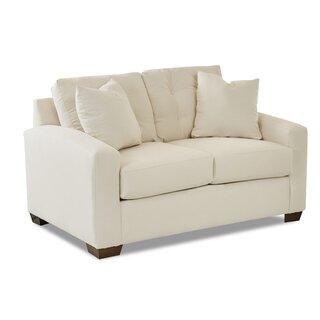 Alanna Loveseat by Wayfair Custom Upholstery๏ฟฝ SKU:CE497384 Purchase