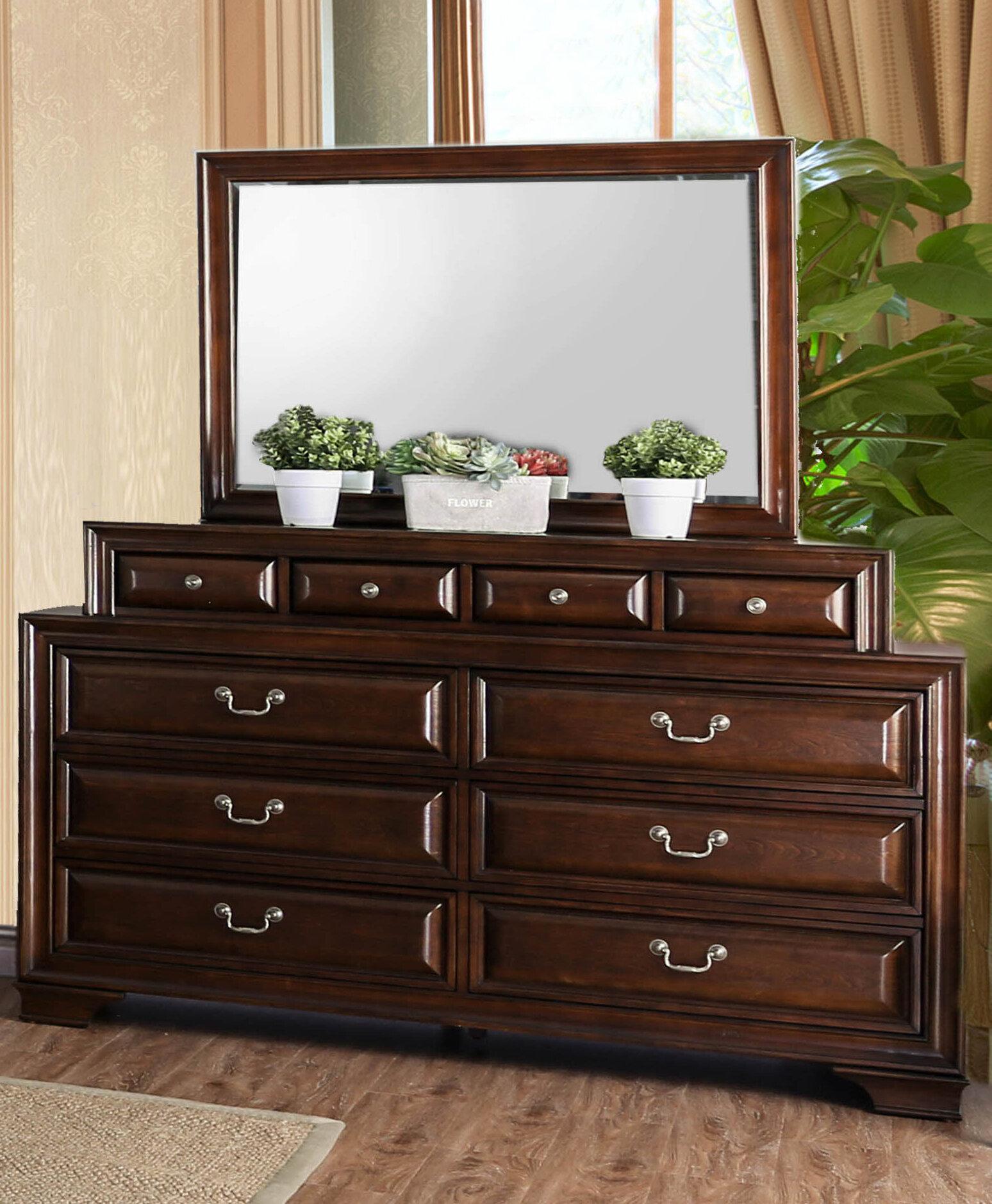 Perera 10 Drawer Double Dresser
