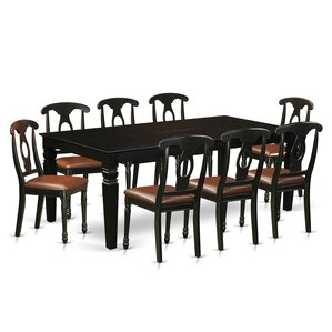 Beesley 9 Piece Hardwood Dining Set by Darby Home Co