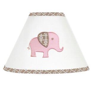 Malaysia Elephant 7 Cotton Empire Lamp Shade