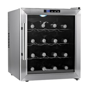 16 Bottle Silent Single Zone Freestanding Wine Cooler