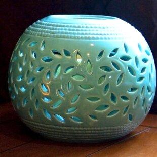 Ceramic Lantern by Red Bar..