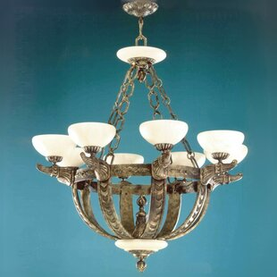 Zanin Lighting Inc. Melilla 8-Light Shaded Chandelier