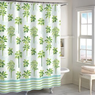 Blithedale Palm Shower Curtain by Bay Isle Home