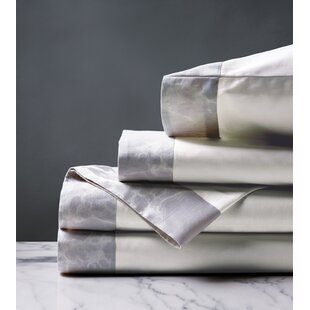 Rosalynn 260 Thread Count Solid Color 100% Cotton Sheet Set (Set of 4)