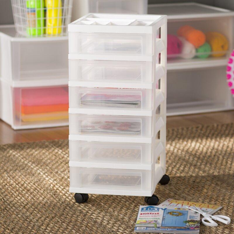 Wayfair Basics 6 Drawer Storage Chest