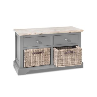 Great Deals Benedict Wood Storage Bench