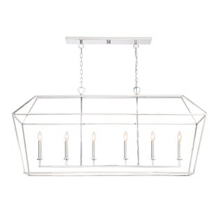 Padminie 6-Light Kitchen Island Pendant by Gracie Oaks