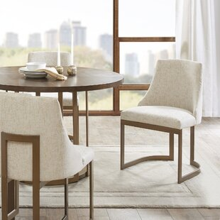 Faunsdale Upholstered Dining Chair (Set Of 2) by Brayden Studio Spacial Price