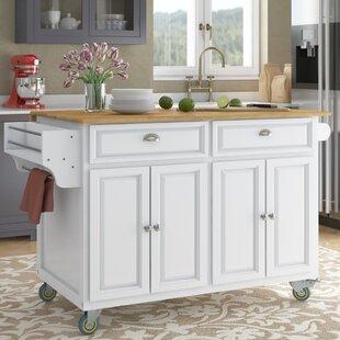 Kitchen Rolling Table Wayfair